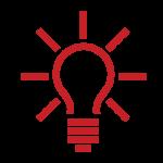 Lightbulb icon representing Pearls of Wisdom